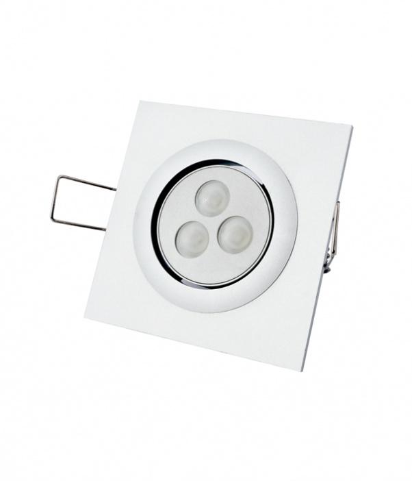 Down-Light, Drei Köpfe unten Licht, LED-Raster unten Licht, Gitter unten Licht, Doppelköpfe unten Licht