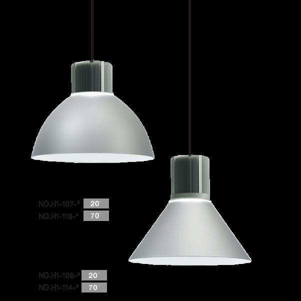 LED High Bay-Leuchten, hohes Buchtlicht, Hochregalleuchten, Tunnel-Licht, High-Power-Hochregalleuchten